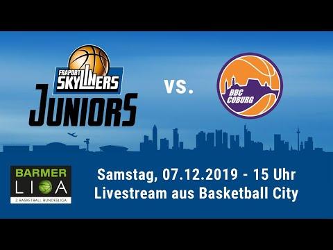 Livestream - ProB Heimspiel Der FRAPORT SKYLINERS Juniors Gegen Coburg