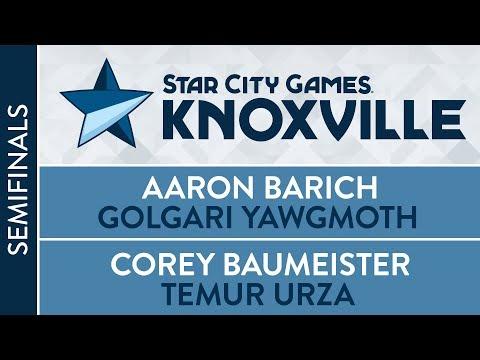 SCGKNOX: Semifinals - Aaron Barich VS Corey Baumeister   Modern