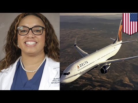 Delta airlines discrimination: Black woman says staff didn't think she was real doctor - TomoNews
