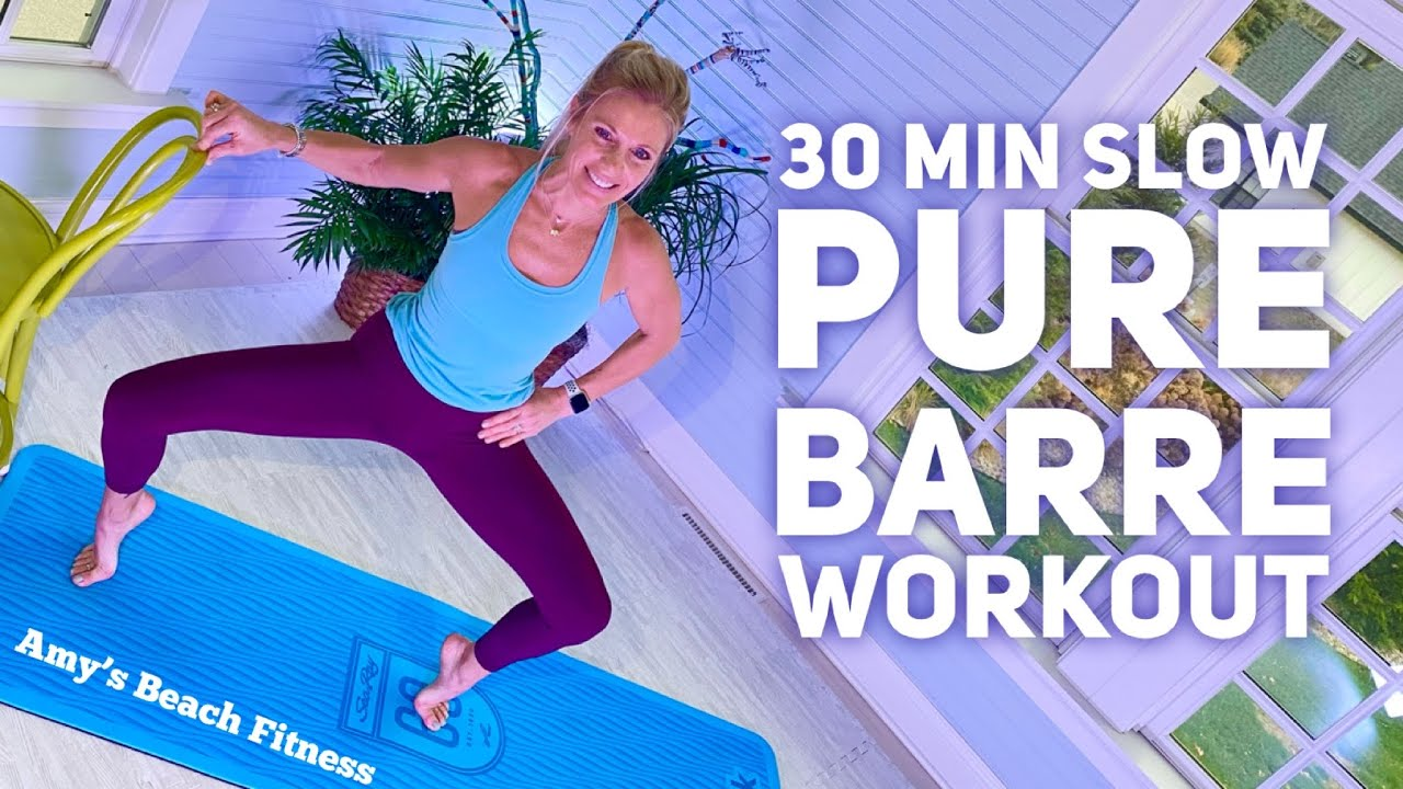 30 MIN Pure Barre Workout