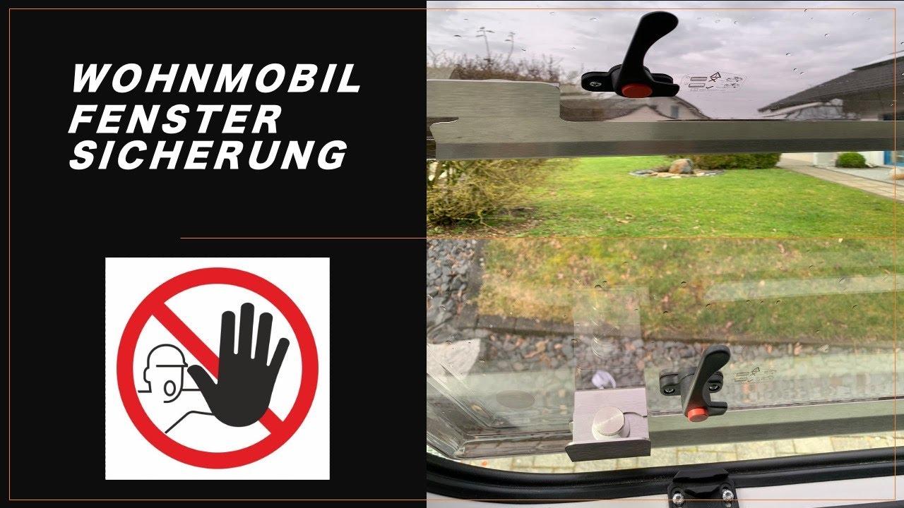 Fenstersicherung Wohnmobil - Einbruchschutz Wohnmobil