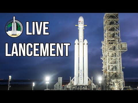replay live lancement inaugural de la falcon heavy youtube. Black Bedroom Furniture Sets. Home Design Ideas