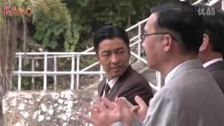 大沢たかおさんインタビューとクランクアップの様子。日本語。
