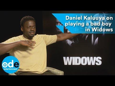 Daniel Kaluuya talks about playing a bad boy in Widows