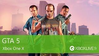 GTA 5 - Gameplay - Xbox One X