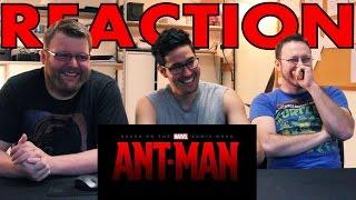 Marvel's ANTMAN trailer REACTION