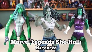 Marvel Legends She-Hulk Review Super Skrull BAF Fantastic Four Wave