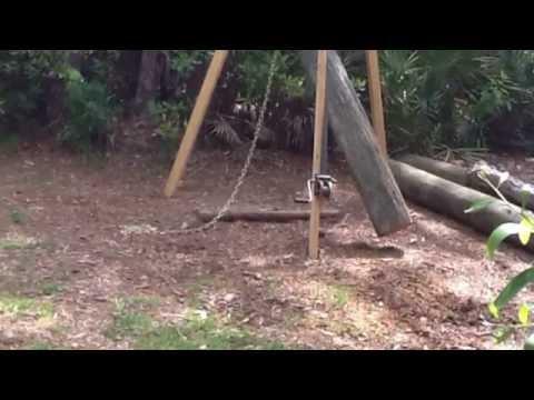 Homemade Wood Gantry Crane Guide Wood For Beginner