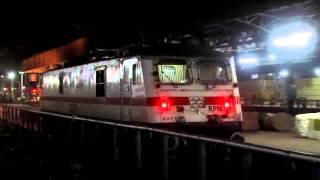INDIAN RAILWAYS :BRAND NEW ROYAPURAM WAP-7 30319 AND 30320.