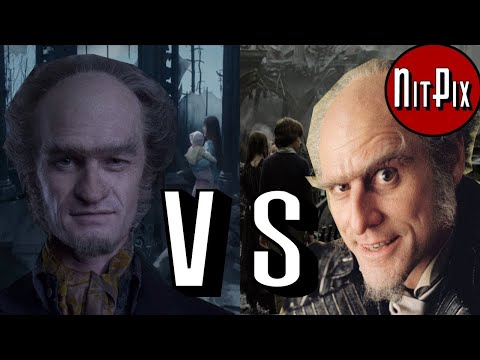 NETFLIX SERIES VS FILM: A Series Of Unfortunate Events  NitPix