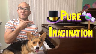 """🔴How to Play """"Pure Imagination"""" for Intermediate Piano (Free Lesson)"""