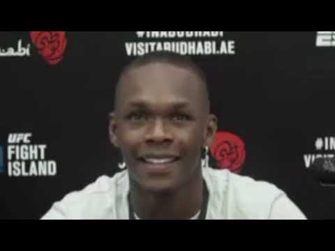 UFC253 - Israel Adesanya addresses Colby Covington's comments / sees hypocrisy in media coverage