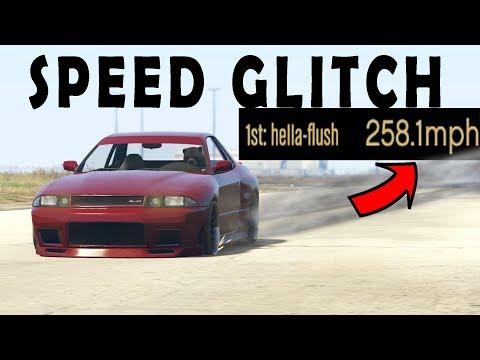 FASTEST CAR SPEED GLITCH GTA 5 ONLINE