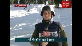 Vigil Indian Army In Minus 30 Degree Temperature At LoC, J&K