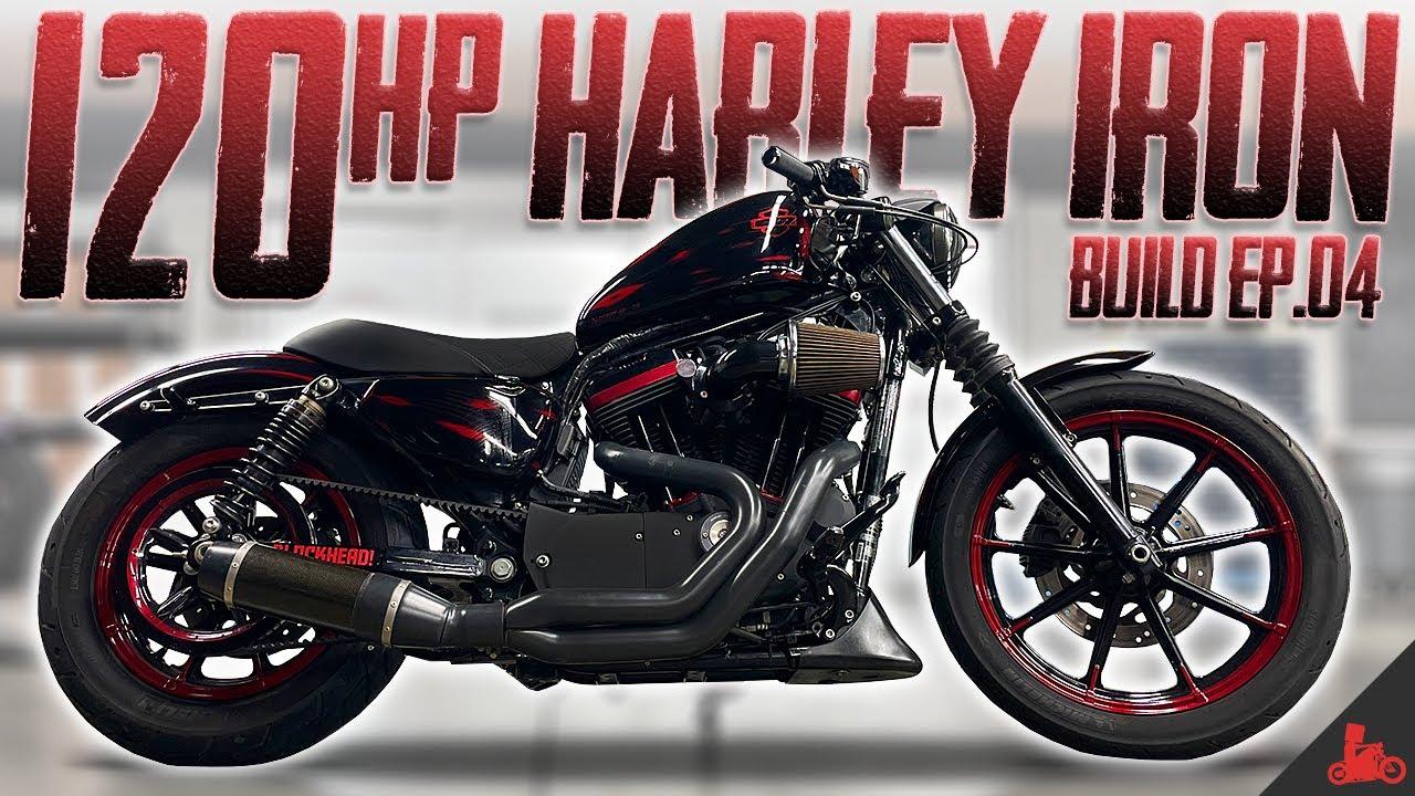 Harley Iron 883 to 1275 Build (Ep. 04)