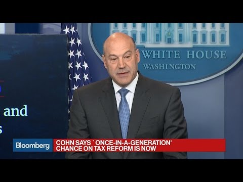 Cohn Unveils 'One Of Biggest Tax Cuts' In U.S. History
