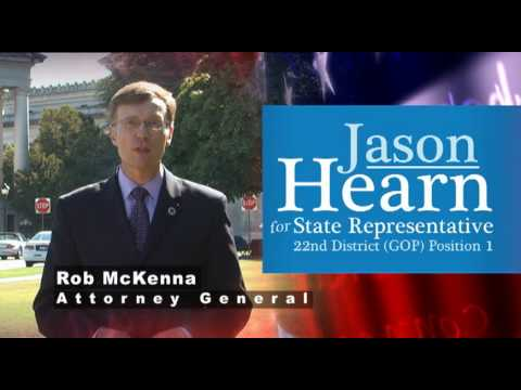 Rob McKenna, WA State Attorney General, Endorses Jason Hearn