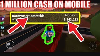 Obtendo 1 milhão dinheiro em??!! móvel | Jailbreak de Roblox