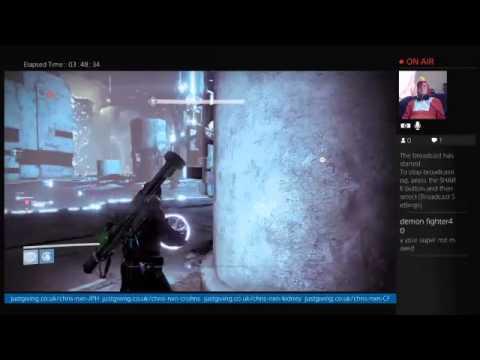 NXN's 25 Hour Charity Stream Pt 2b - Destiny: The Taken King