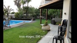 Villa en Israel - vente de Cottage avec piscine a cote de TEL AVIV
