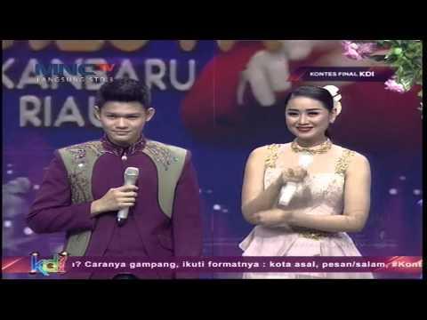 "Mahesya Feat. Selfie "" Bunga Dan Kumbang "" Pekanbaru - Kontes Final KDI 2015 (29/5)"
