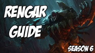 Rengar Jungle Guide Season 6 - League Of Legends