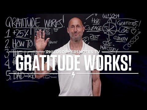 PNTV: Gratitude Works! by Robert Emmons, Ph.D. (#402)