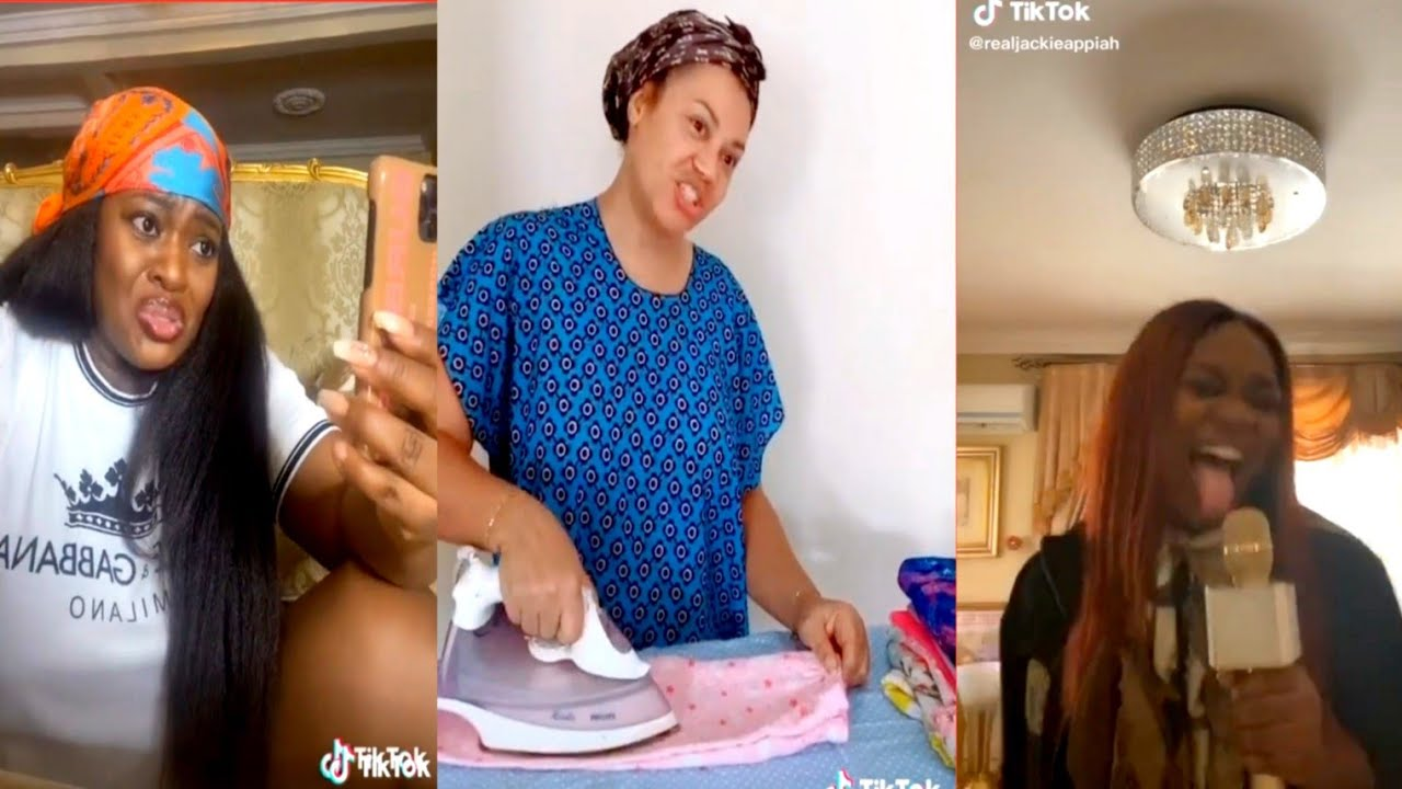 Download Watch Funny Jackie Appiah and Nadia Buari Tiktok Compilation|| This video would make your Day