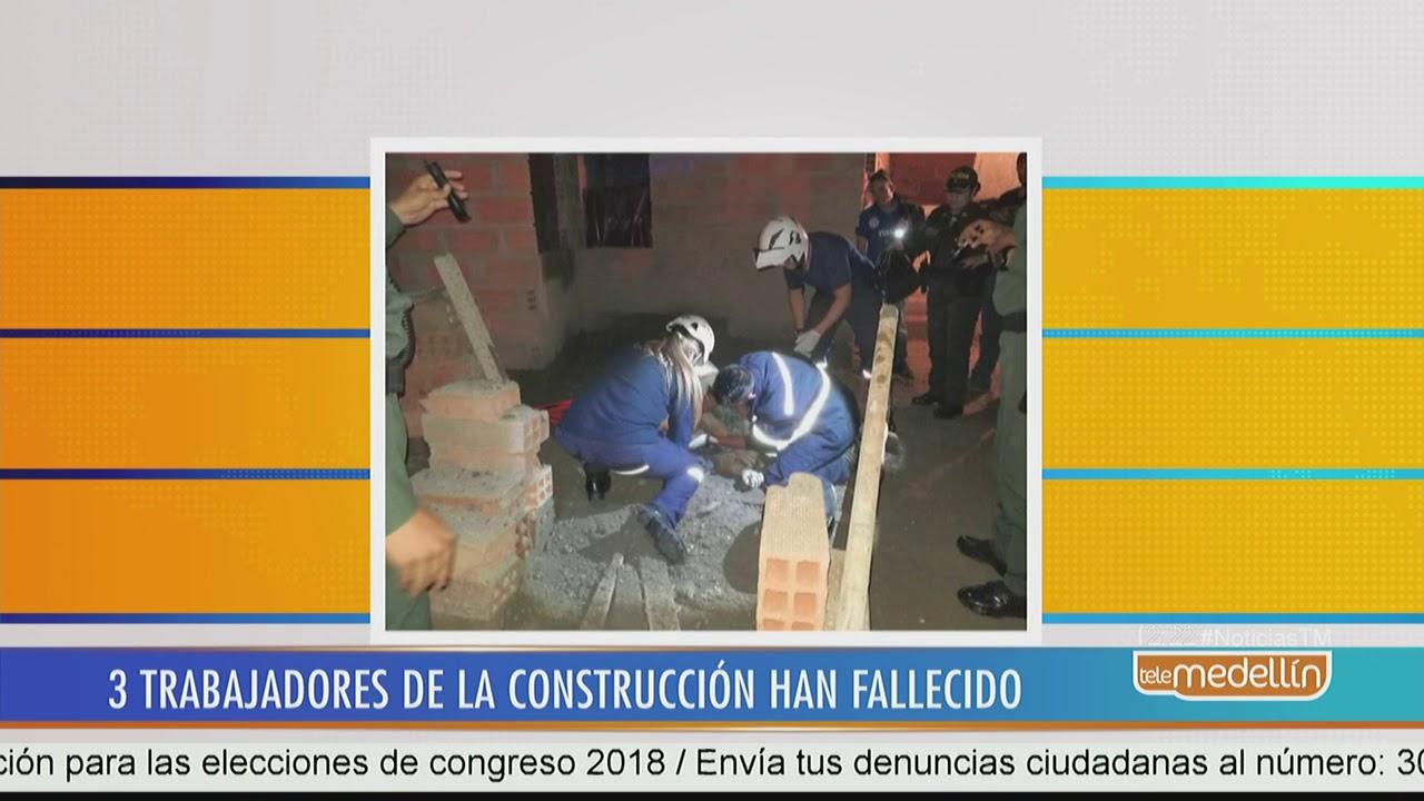 Obrero perdió la vida tras caer de construcción en Caldas [Noticias ...