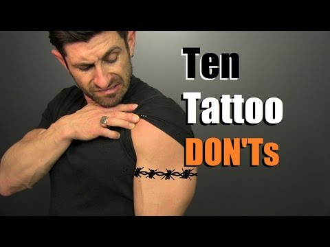 Thumbnail: 10 Tattoo DON'Ts!! How To Avoid STUPID Tattoos