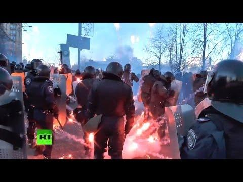 Беспорядки в Киеве: