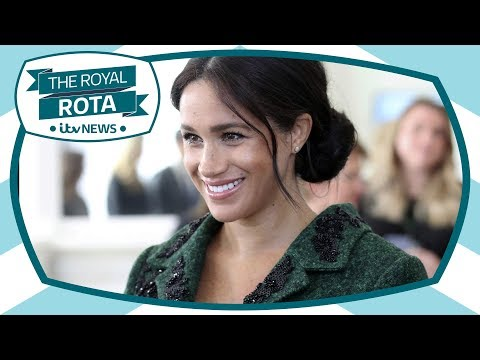 Our royal team in Windsor on the global wait for Meghan baby news | ITV News