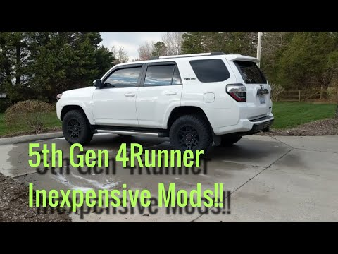 Cement Grey TRD PRO Grill Vinyl Decals For 2015-2019 Toyota 4Runner New USA