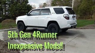 Top 5 Inexpensive 5th Gen 4Runner Mods - Start Here!