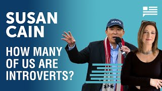 Susan Cain: How many of us are actually introverts? | Andrew Yang | Yang Speaks