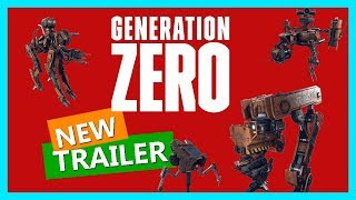 GENERATION ZERO Gameplay Trailer Official E3 2018-2019 [NEW GAME AVALANCHE STUDIOS] PS4 | PC | XBOX