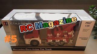 Радиоуправляемая пожарная машина Mercedes-Benz Antos Fire Truck обзор