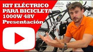 Kit Electrico bicicleta 1000W 48V | Presentación