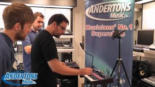 Novation MININOVA Synth - In Store Demo and First Look