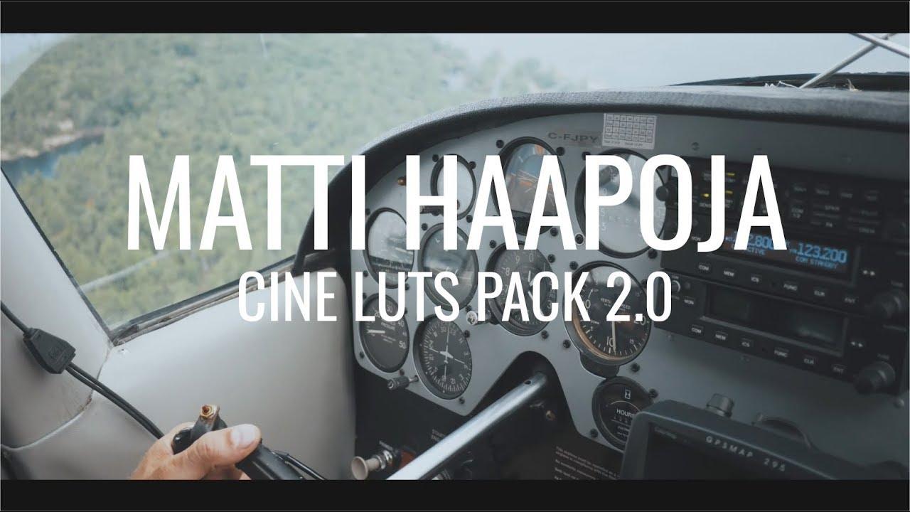 #Matti #Haapoja CINE #LUTs Pack 2.0 #1