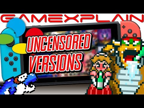Peach & Bowser Drink!? Yoshi EATS Dolphins!? Play The Uncensored Japanese SNES Originals With NSO!