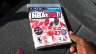 NBA 2K11 unboxing