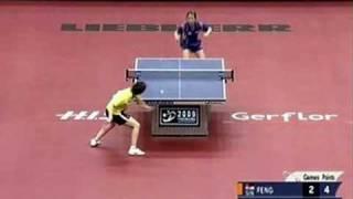 Feng Tianwei vs Park Mi Young (2009 WTTC)