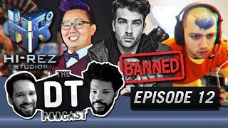 Hasanabi banned on Twitch and Hi-Rez employee arrested - The DT Podcast | EP12