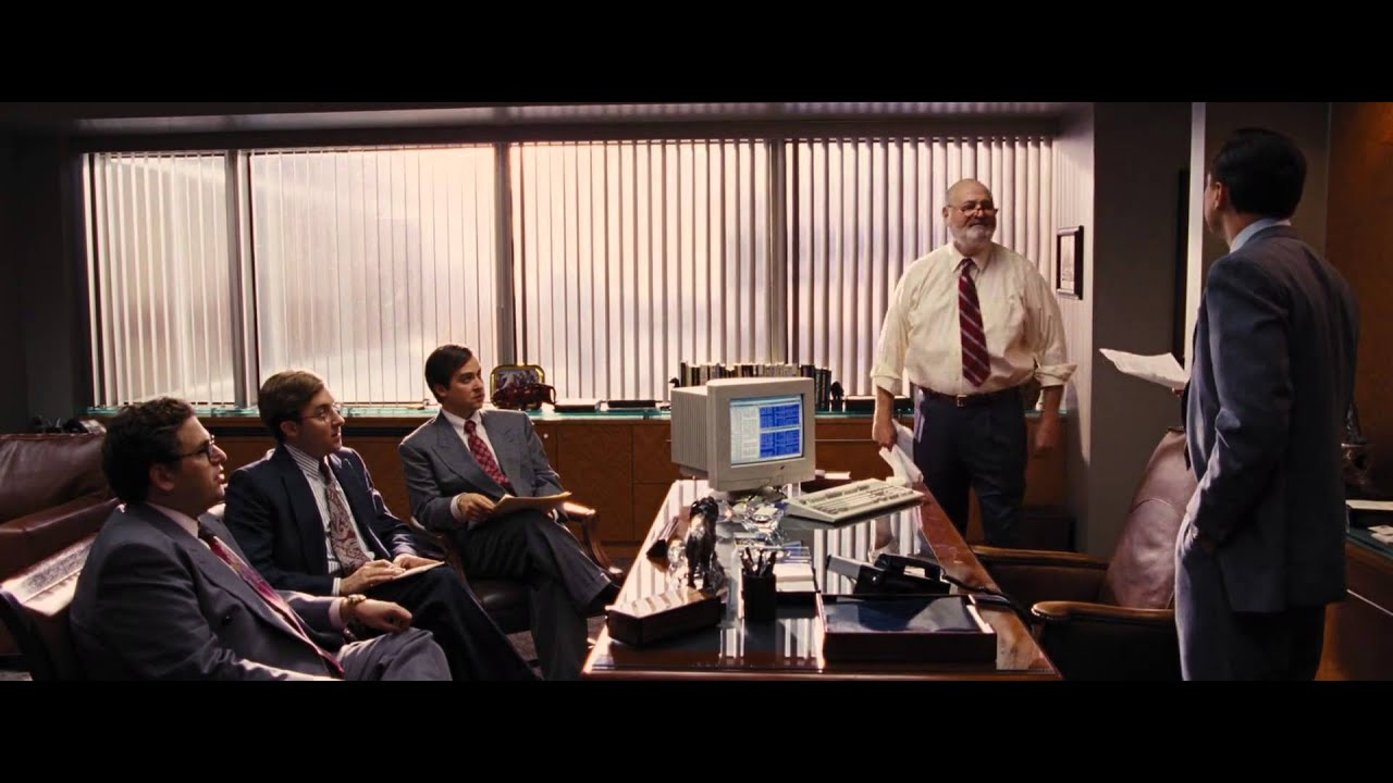 The Wolf Of Wall Street Mad Max Scene Youtube