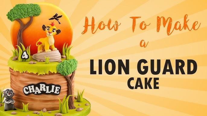 The Lion King Silhouette Cake Birthday Party Ideas Cake Art Koalipops Youtube