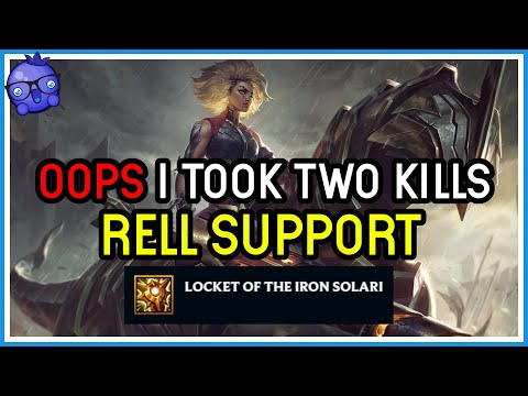 People complaining Rell Support sucks but maybe you just aren't taking all the kills?