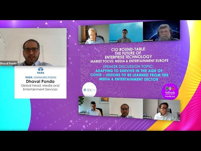 Trailer: CIO Round-Table - The Future of Enterprise Technology - Media & Entertainment-Europe