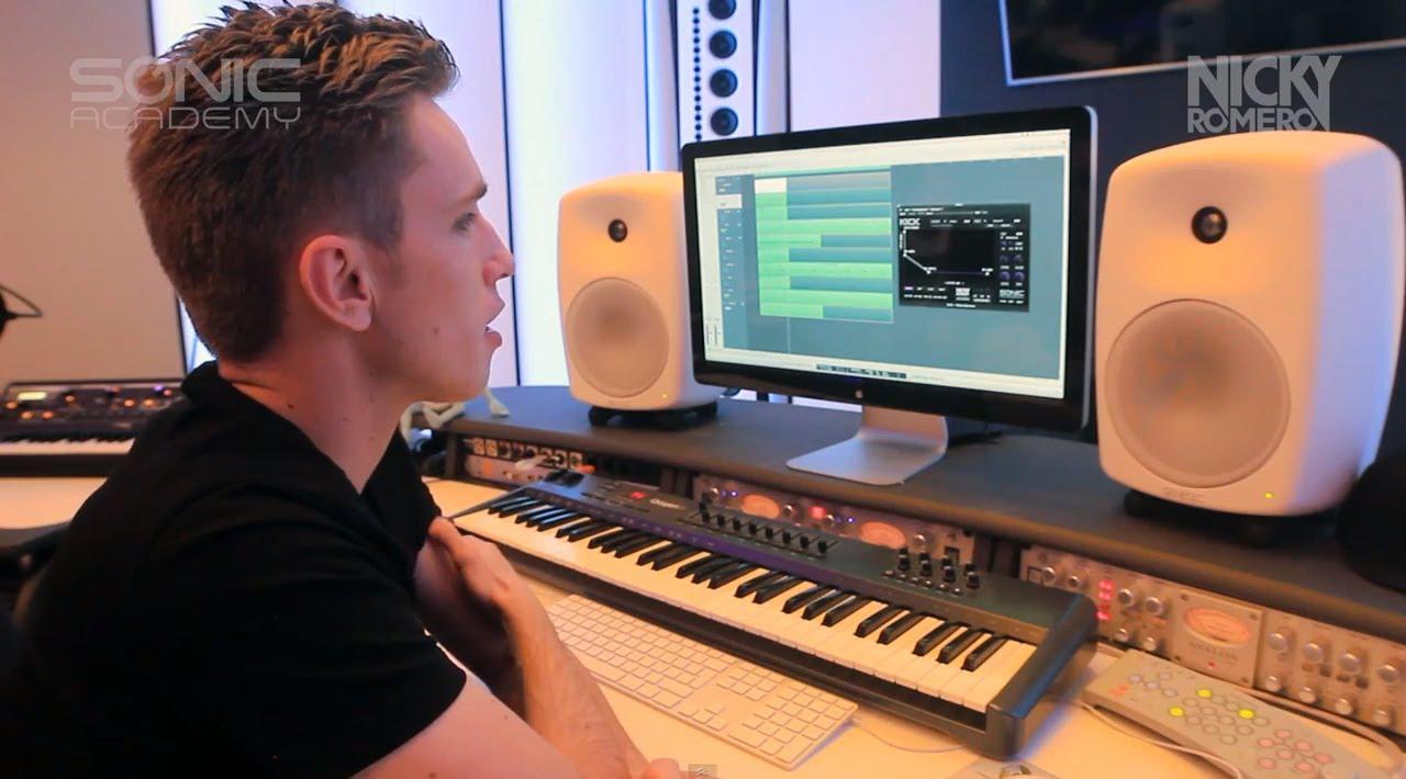 Nicky Romero - KICK (Sonic Academy Plug-in) - YouTube