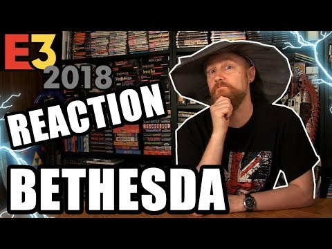 BETHESDA 2018 CONFERENCE REACTION - Happy Console Gamer